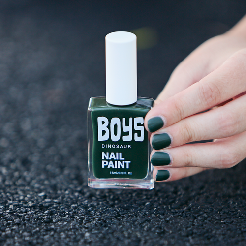 Green Boys Nail Polish