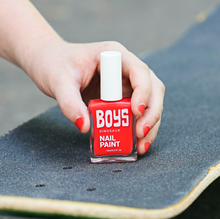 Load image into Gallery viewer, Red Boys Nail Polish