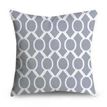 Load image into Gallery viewer, Beautiful Grey in This Set aThey are 45*45cm Gray Geometric Cushion Cover Decorative Pillows