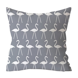 Beautiful Grey in This Set aThey are 45*45cm Gray Geometric Cushion Cover Decorative Pillows