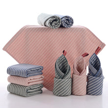Load image into Gallery viewer, 3 Colors Cotton Striped Kitchen Towels