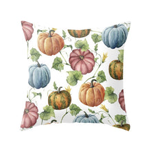 Load image into Gallery viewer, 45x45cm Fall Halloween Pumpkin Cushion Cover Waist Throw Pillow Cover Polyester Cushion Case Sofa Bed Living Room Home Decor