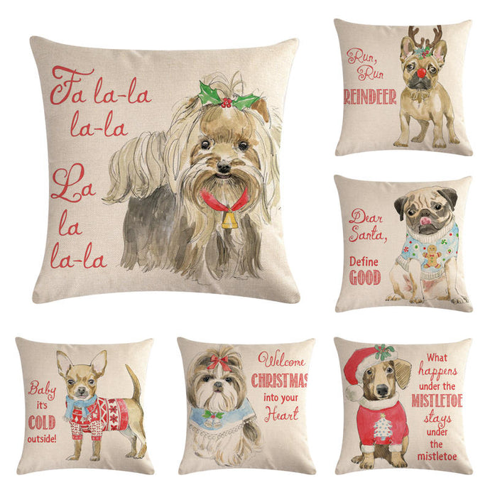 Our babies on pillows. Pets--12 Pillow Cover Throw 45 * 45cm