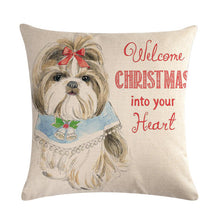 Load image into Gallery viewer, Our babies on pillows. Pets--12 Pillow Cover Throw 45 * 45cm