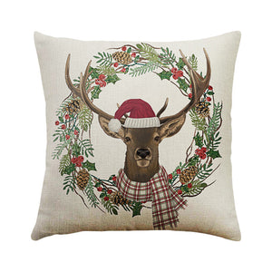 2019 New Christmas Deer And Other Designs Too cushion pillow inserts are available