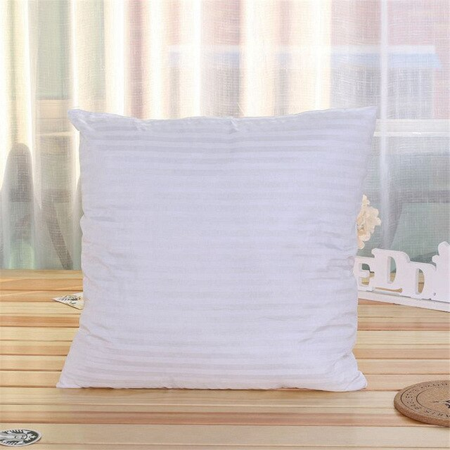 White Soft Cotton Pillow insert for Pillow Covers We Sell, 45cm x 45cm
