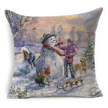 Load image into Gallery viewer, THESE ARE THE BOMB FOR 2019 Merry Christmas Pillow Covers, We ALSO Sell the pillow inserts too