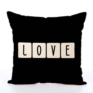 So Cute Linen Pillow Covers Several Different Designs