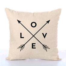Load image into Gallery viewer, So Cute Linen Pillow Covers Several Different Designs