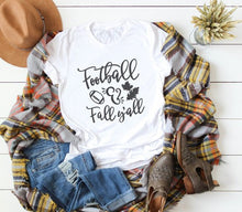 Load image into Gallery viewer, Football Hipster Slogan T-Shirt Fashion