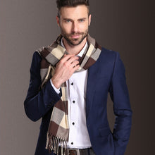 Load image into Gallery viewer, Men's Fall/Winter Scarf in 22 Different Colors