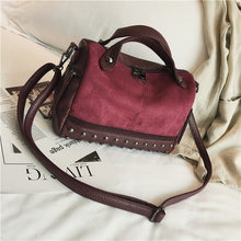Load image into Gallery viewer, Sherry's Favorite Suede Leather Handbag