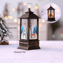 Load image into Gallery viewer, LED Christmas Lantern Candle