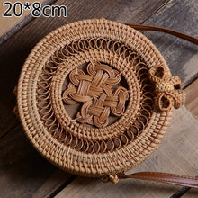Load image into Gallery viewer, So Sweet Handmade Woven Straw Bag