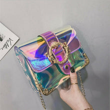 Load image into Gallery viewer, Adorable Iridescent  Shoulder Jelly Purse