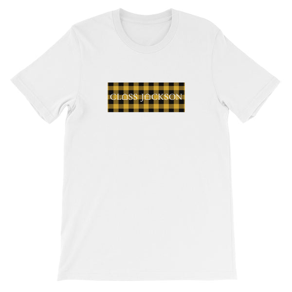 B Dot Tee - Yellow Flannel
