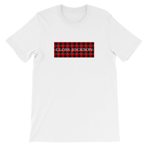 B Dot Tee - Red Flannel