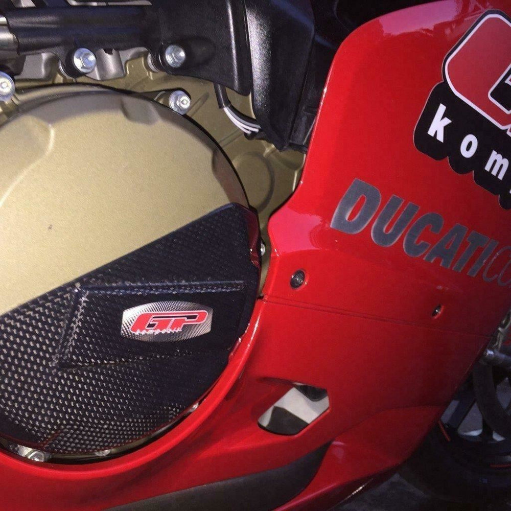 Ducati Panigale 1199 Engine cover guard carbon fiber pair 2012-14