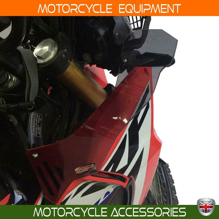 Honda CRF250 Rally clear color side wind deflector set 17-20