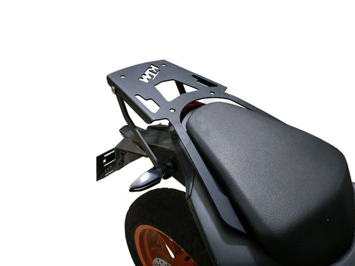 KTM DUKE rear rack luggage carrier + 46 LT TOP CASE SET  - ALL IN ONE