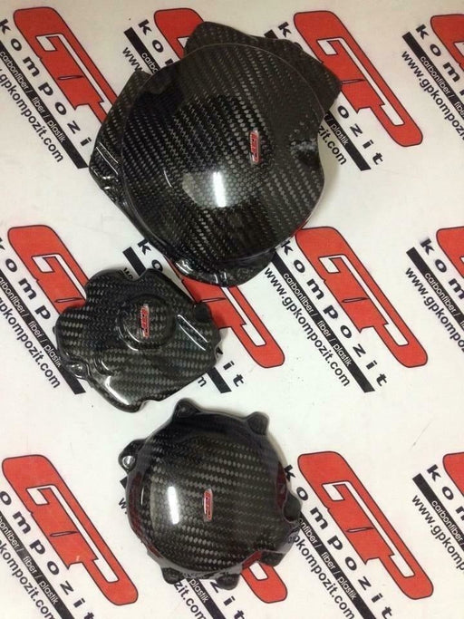 Kawasaki ZX10R engine cover protector 2011 ON carbon fiber