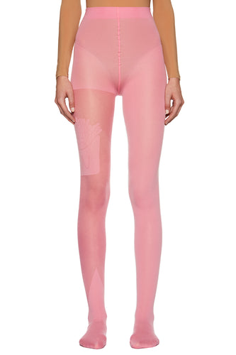 Pink 'Pommes Frites' Tights
