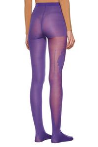 Purple 'Anniversary' Tights