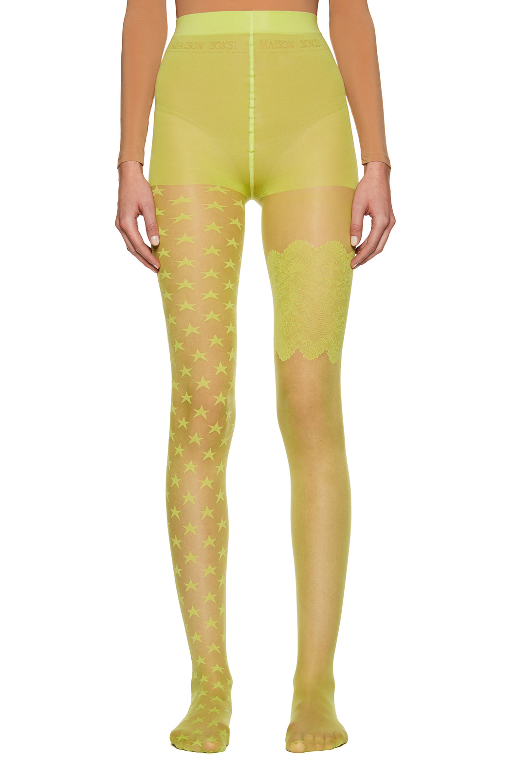 Lime 'Classic' Tights