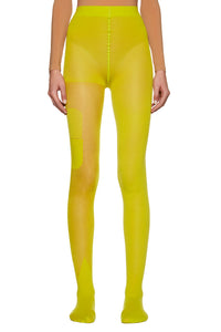 Yellow Fluo '20 mg' Tights