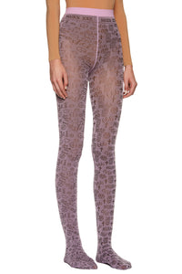 Moderate Purple '666' Tights