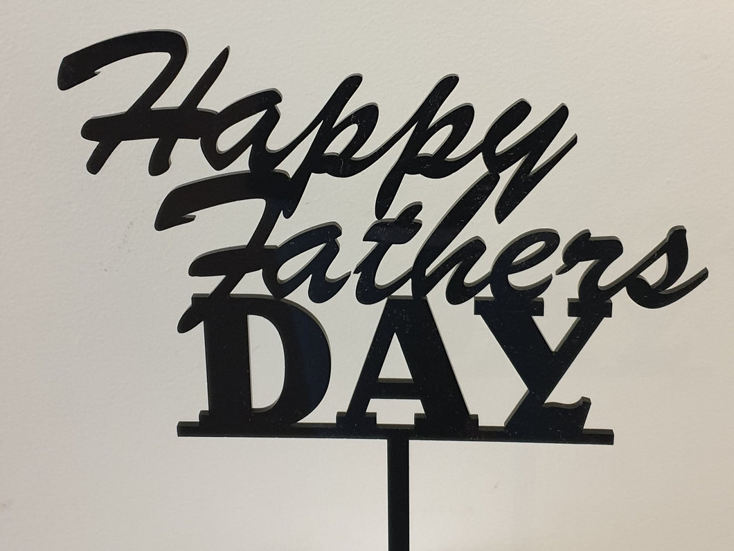 Fathers Day Cake Topper