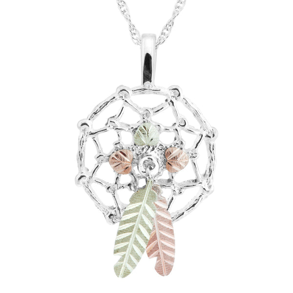 25686-GS DREAMCATCHER PEND - Berg Jewelry & Gifts