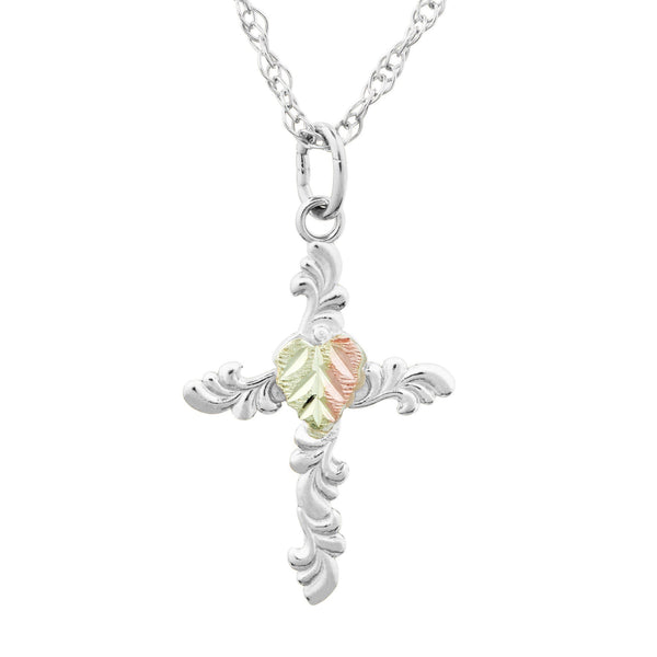 2638-GS CROSS PEND - Berg Jewelry & Gifts