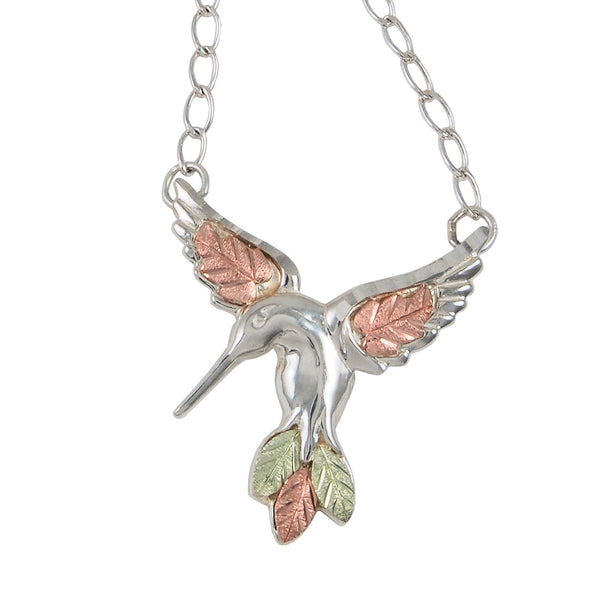 3092-GS HUMMINGBIRD PEND - Berg Jewelry & Gifts