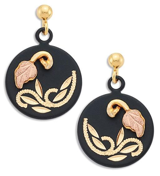 Black Hills Gold Earrings G LER3207PD - Berg Jewelry & Gifts