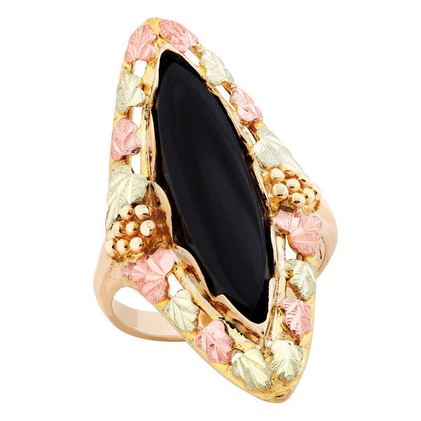 G LC271 Black Hills Gold Ring - Berg Jewelry & Gifts