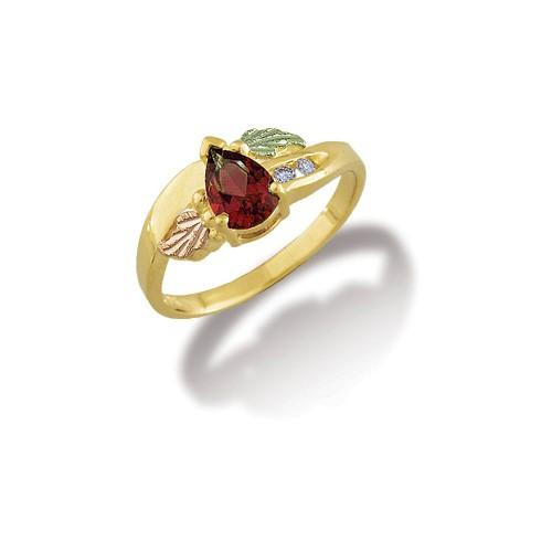 G LLR3009-201 Black Hills Gold Ring - Berg Jewelry & Gifts
