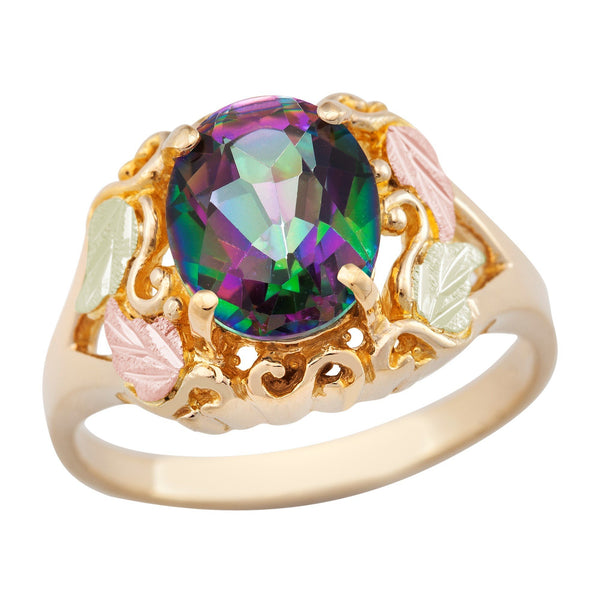 G LLR625-471 Black Hills Gold Ring - Berg Jewelry & Gifts
