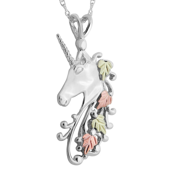 GS3451A G/S UNICORN PEND DD - Berg Jewelry & Gifts