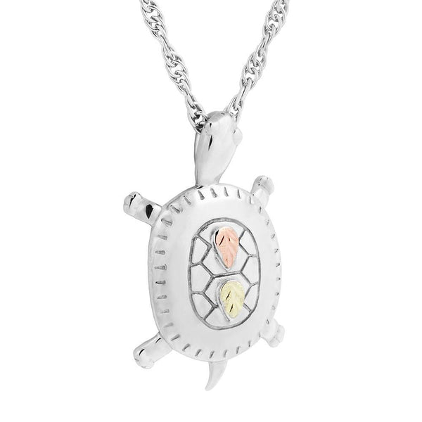 MR20065 MTR G/S TURTLE PEND - Berg Jewelry & Gifts