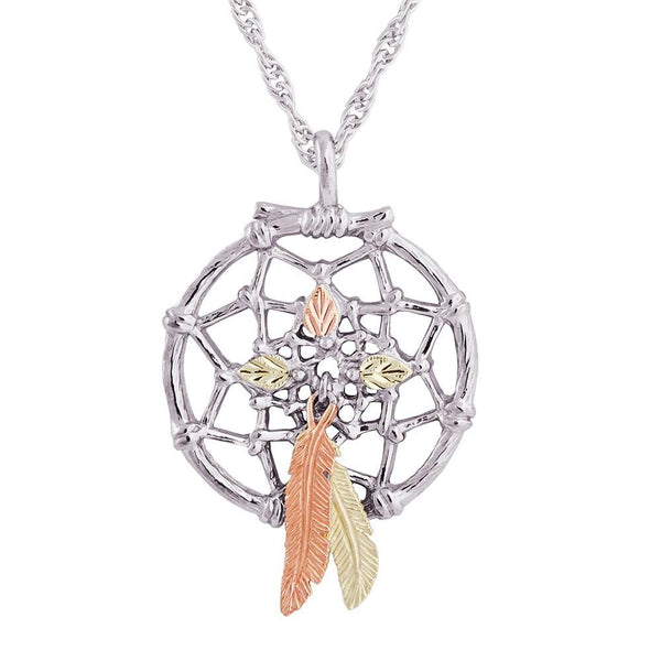 MR20083 G/S DREAMCATCHER PEND - Berg Jewelry & Gifts