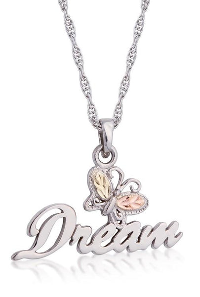 MR20189 DREAM BUTTERFLY PEND - Berg Jewelry & Gifts