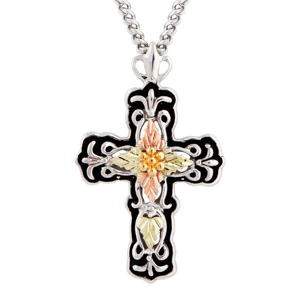 MR2368 MTR ANTIQUED CROSS PEND - Berg Jewelry & Gifts