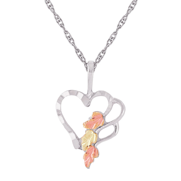 MR2408 MTR HEART PEND - Berg Jewelry & Gifts