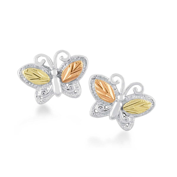 MR30097 G/S BUTTERFLY EARS - Berg Jewelry & Gifts