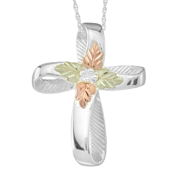 MRC25224-GS CROSS PEND - Berg Jewelry & Gifts