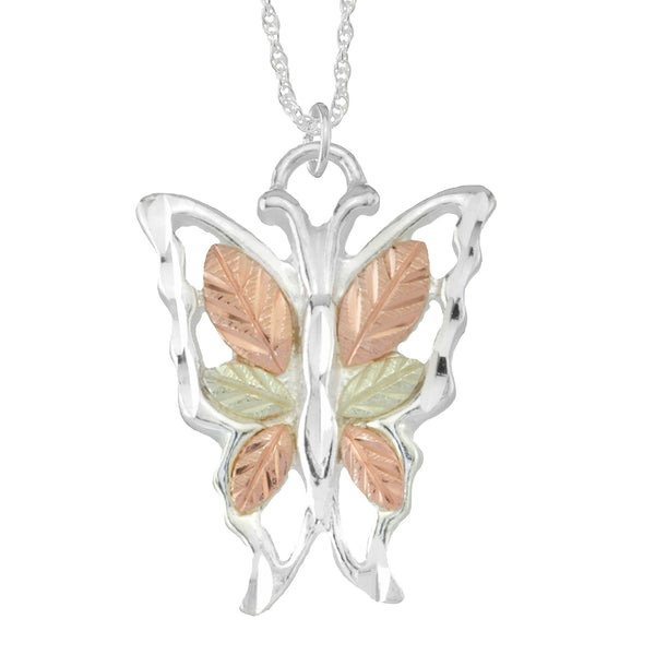MRC2951-GS BUTTERFLY PEND - Berg Jewelry & Gifts