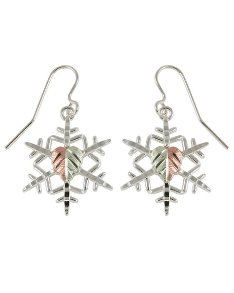 MRC50654-GS-SH SNOWFLAKE EARS - Berg Jewelry & Gifts