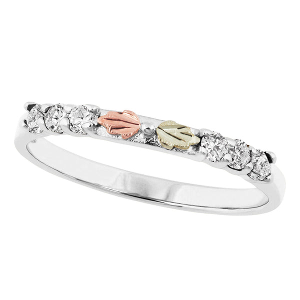 WGL10035W-101 Black Hills White Gold Ring - Berg Jewelry & Gifts