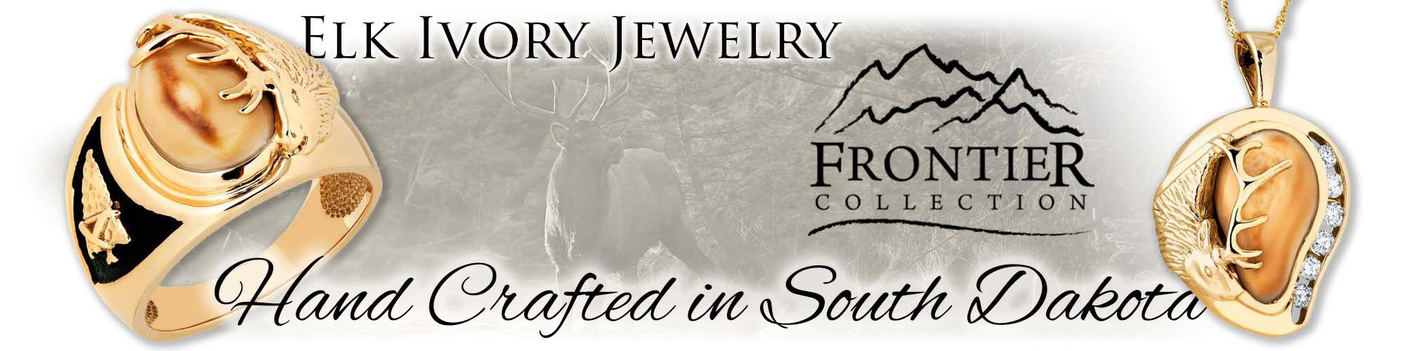 Black Hills Gold Elk Ivory Hills Jewelry